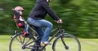 chaise enfant vélo