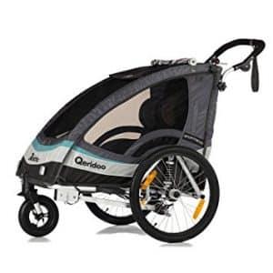 QeridooSportrex 2 Poussette-remorque de vélo pour enfant