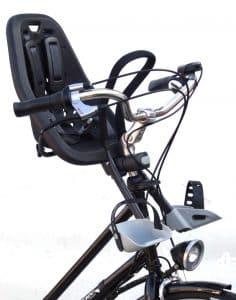 petit porte-bébé vélo avant Yepp