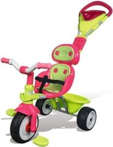 test du tricycle enfant pour fille baby driver confort fille de smoby. Black Bedroom Furniture Sets. Home Design Ideas