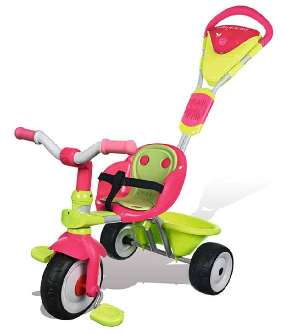 test du tricycle enfant pour fille baby driver confort fille de smoby. Black Bedroom Furniture Sets. Home Design Ideas