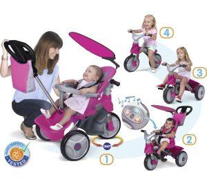 Comment fonctionne un tricycle évolutif bébé