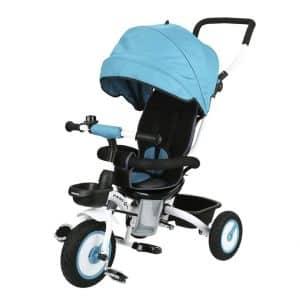 Tricycle évolutif bébé Pliable Poussette Fascol