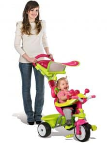Tricycle enfant pour fille - Baby Driver Confort Fille Smoby