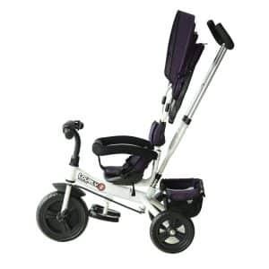poussette Tricycle Enfant Evolutif HomCom utilisation