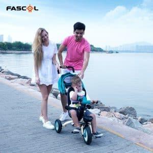 tricycleBébé Evolutif Pliable Poussette Fascol utilisation