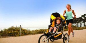 Quelques conseils avant de courir avec bébé