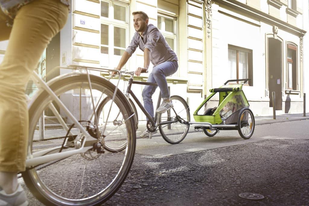 Accessoires pour promener son bébé à vélo