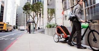 Comment peut-on transporter ses enfants à vélo
