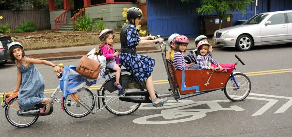 Comment promener son bébé à vélo-