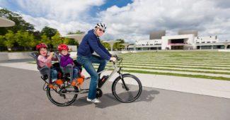Porte bébé pour vélo électrique