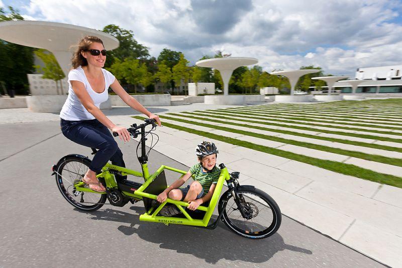 Porte bébé vélo avant ou arrière - Porte