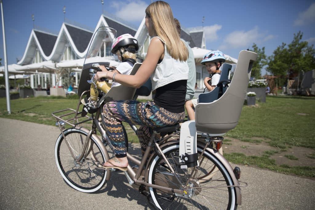 Porte bébé vélo avant ou arrière