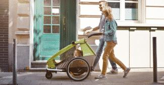 Quel âge pour utiliser un porte bébé à vélo-