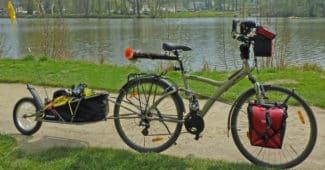 Quel type de vélo utiliser pour une remorque vélo