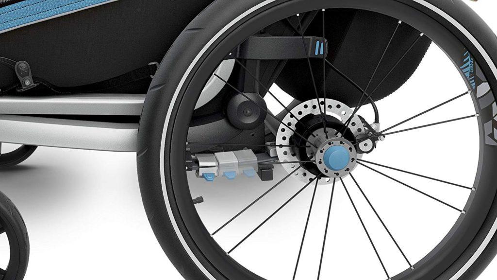 Thule Chariot Sport utilisation