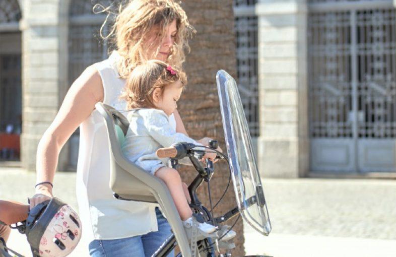 porte bébé vélo avant