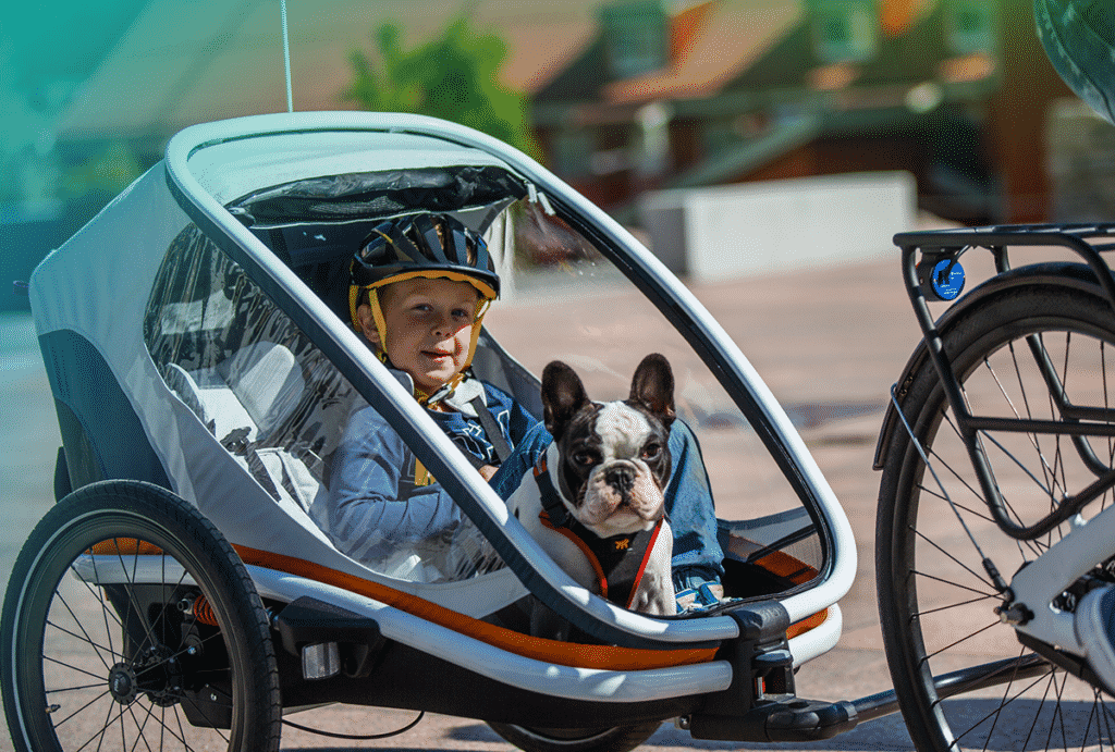 remoque vélo